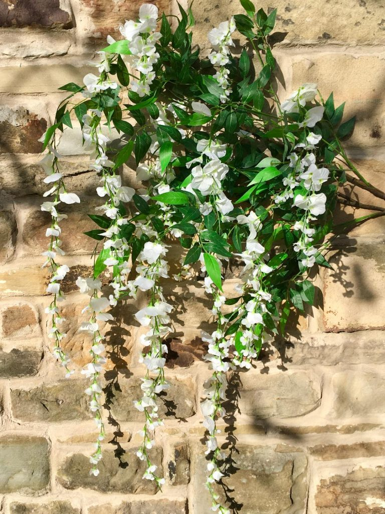 Decorative trees supplied to wedding couple by Tracy Williamson Design